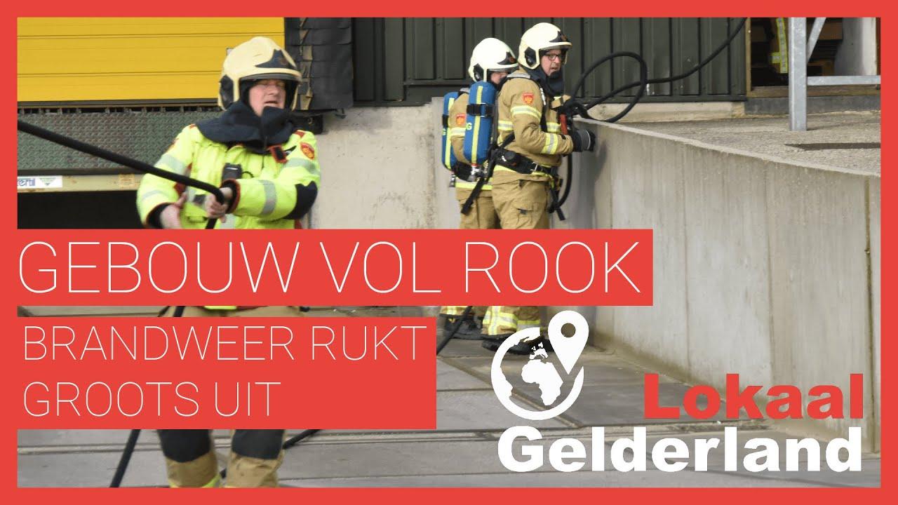 Veel brandweer bij industriebrand in Zutphen