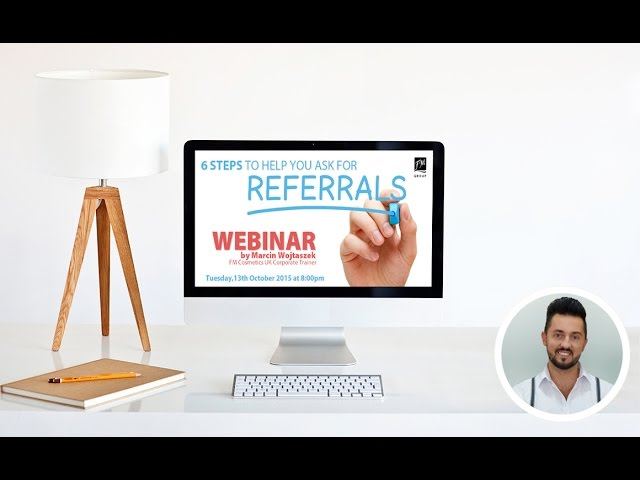 6 Steps to ask for referrals