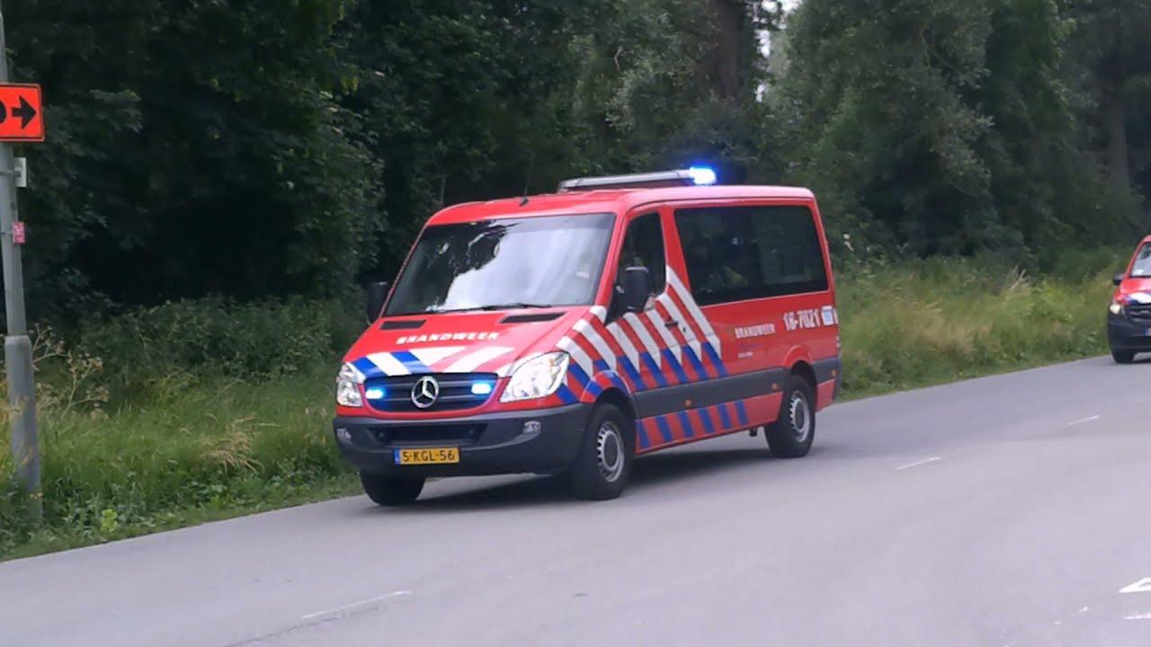 *(Primeur)* Brandweer met spoed naar grote brand in Dordrecht