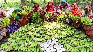 Green Banana Hidden Recipe - I Bet No One Seen This Banana Recipe Before
