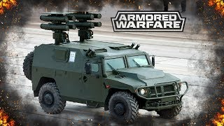 Корнет-ЭМ : Революционная машина в Armored Warfare
