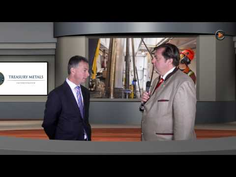 Commodity-TV Interview, Studio München mit Martin Walter, CEO Treasury Metals