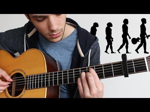 Desde 1680 hasta 2017, La Evolución De La Música En Una Guitarra
