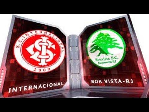ESTATÍSTICAS DA PARTIDA ENTRE - BOA VISTA VS INTERNACIONAL/AO VIVO|LIVE/SAN LORENZO VS ARGENTINO JRS