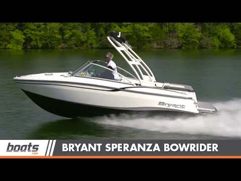 Bryant Speranza: Bowrider Boat Review / Performance Test