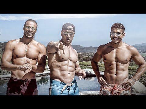 Est noire la photo blanche le bodybuilding