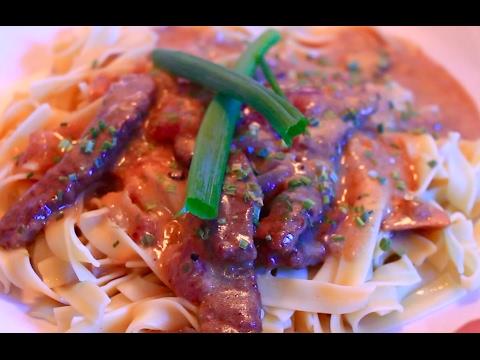 Beef Stroganoff – DELICIOUS & SUPER EASY!