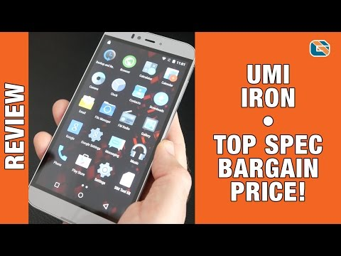 UMI Iron 4G LTE Smartphone Review inc Unboxing