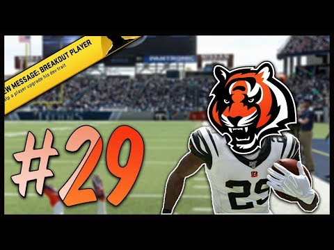 Newly Acquired Player Goes Off! | Madden 20 Cincinnati Bengals Franchise #29