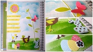 Smash Book Terapia: 01.04.13 *Cómo hacer un diario de Scrap* Smash book tutorial