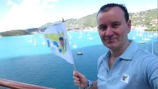preview picture of video 'Ryan Janek Wolowski, visits Saint Thomas, U.S. Virgin Islands port of Charlotte Amalie'