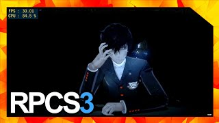 Rpcs3 Persona 5 Low Fps