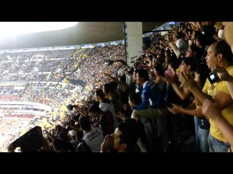 """""""Como No Te Voy A Querer Pumas Rebel 2014  Estadio Azteca"""" Barra: La Rebel • Club: Pumas"""