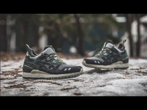 "Review & On-Feet: Haven x Asics Gel-Lyte MT ""Black"""