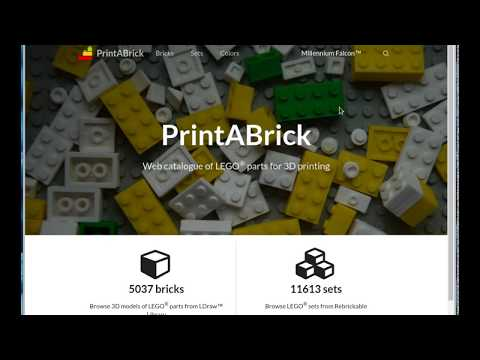 Print a Brick: All LEGO® parts and sets by hroncok - Thingiverse
