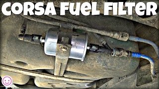Corsa C Fuel Filter Replacement