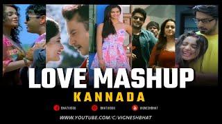 Love Mashup Kannada   Valentine's Day Mashup   Sandalwood Mashup   Vignesh Bhat