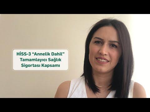 """Tuğba Yıldız – HİSS-3 """"Annelik Dahil"""" Tamamlayıcı Sağlık Sigortası Kapsamı"""