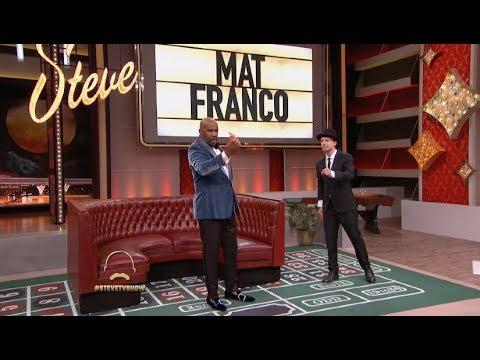 Magician Mat Franco Steals Harvey's Hundred! (видео)