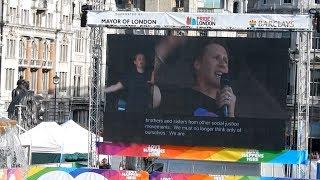 Dustin Lance Black's Speech in London Pride (July 8th, 2017)