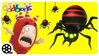 Giant Spider Attack | Oddbods | Funny Cartoons For Kids | The Oddbods Show
