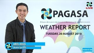 Public Weather Forecast Issued At 4:00 AM August 20, 2019