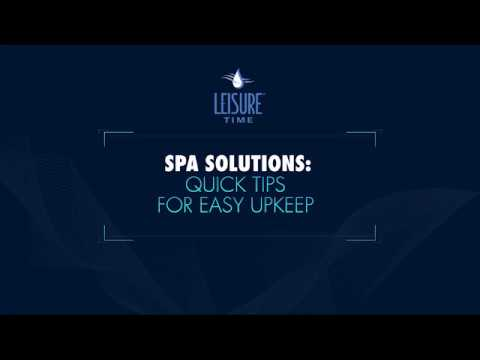Leisure Time Spa Minerals Video video2
