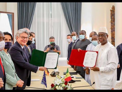 La #TeamEurope appuie le Sénégal dans la production de vaccins contre la COVID-19