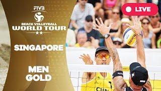 Singapore 2-Star - 2018 FIVB Beach Volleyball World Tour - Men Gold Medal Match