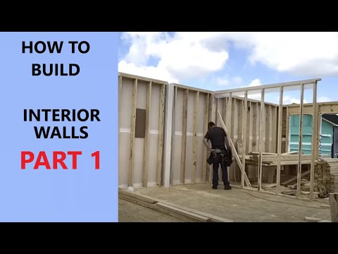 How to frame interior walls [14:57]