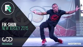 Fik-Shun   FRONTROW   World of Dance New Jersey 2015 #WODNJ2015