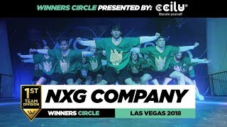 NXG Company   1st Place Team   Winners Circle   World of Dance Las Vegas 2018   #WODVEGAS18