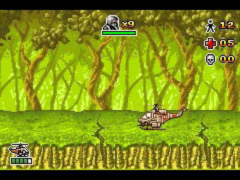 CT Special Forces : Back to Hell GBA