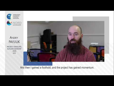 Відео-відгук випускника проекту «Норвегія-Україна» Андрія Павлюка