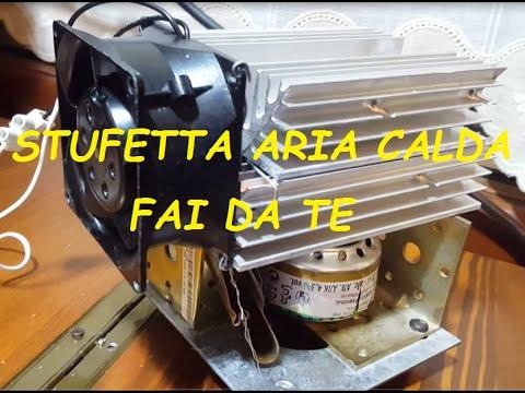 STUFETTA ARIA CALDA FAI DA TE