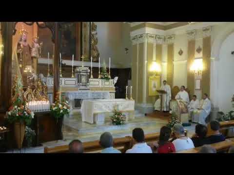 immagine di anteprima del video: Video santa messa Madonna del Carmine 2018 diretta streaming...