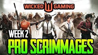 Wicked Gaming Pro Scrimmages Week 2 - ft. Lights Out, SV, RK, OPGG PUBG MOBILE