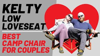 Kelty Low Loveseat   Best Camp Chair For Couples   Rooftop Trekkers