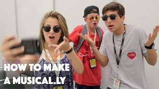 BabyAriel and Jacob Sartorius Teach Me How to Make a Musical.ly