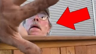 5 Scary Things Caught On Camera : Scary People