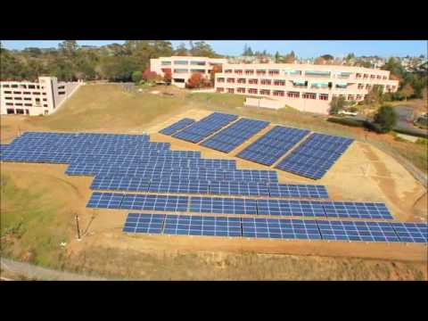 SolarCraft _solar_installation_at_Medtronic_Santa