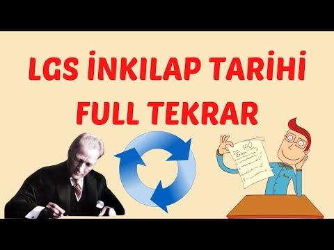 LGS 2021 İNKILAP TARİHİ FULL TEKRAR