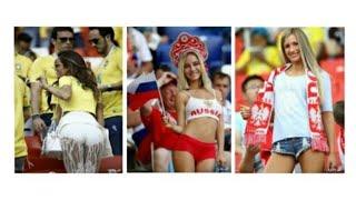 Las porristas más bellas de la Copa del Mundo en 2018 en Rusia. Самые красивые болельщицы на ЧМ 2018