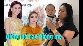 Lâm Khánh Chi lần đầu bế Con Trai RUỘT đi sự kiện Có con mà không được khoe rất khó chịu