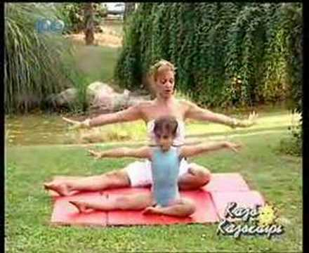 Yoga on Greek Tv Μάθημα Γιόγκα για Παιδιά