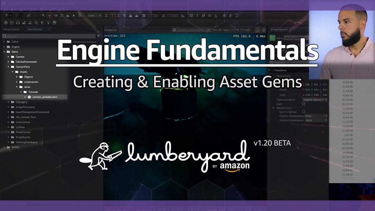 How to Create & Enable Gems in Amazon Lumberyard | Lumberyard Tutorial 2019.19