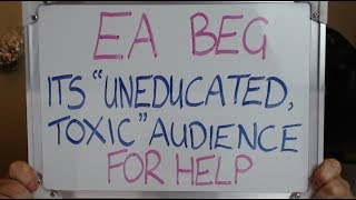 EA BEGS its UNEDUCATED Audience for HELP Fixing ANTHEM'S PS4 Problems!!