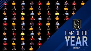 FIFA 17 Ultimate Team - Team of the Year