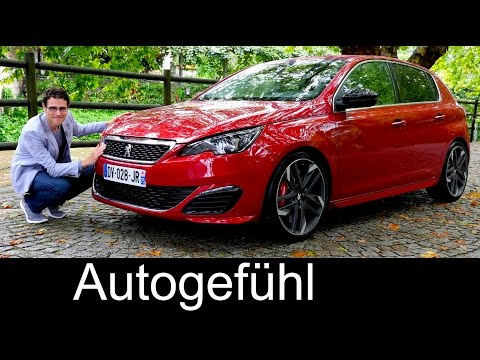 New Peugeot 308 GTi FULL REVIEW 270 hp test driven 2016 hot hatch - Autogefühl