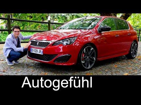 Peugeot 308 GTi 270 hp FULL REVIEW test driven hot hatch new neu 2016  - Autogefühl